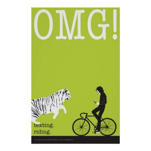 biking and texting